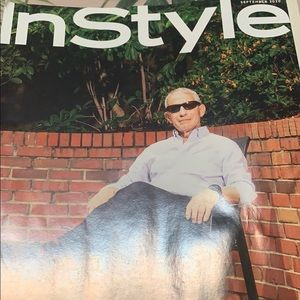In Style magazine collectible Dr Fauci sept 2020